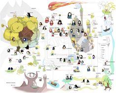 Peoples of Tolkien Ver. 2. 0.1 by eilian.deviantart.com