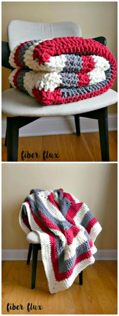 100 Free Crochet Blanket Patterns to Try Out This Weekend - Page 2 of 3 - DIY & Crafts