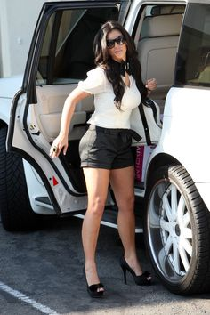fendi Celebs, Celebrities, Her Style, Kim Kardashian, Passion For Fashion, Fendi, Celebrity Style, Mini Skirts, Style Inspiration