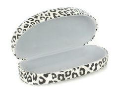 New Snow Leopard Miche Eye Hard Shell Glasses Case. Shop uniquestylishpurses.blogspot.com
