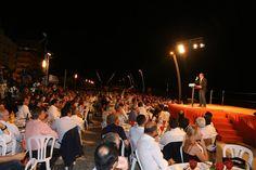 Festa do Pontal, no Calçadão de Quarteira, com a presença de Pedro Passos Coelho - 15 de agosto de 2014.