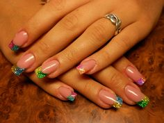 Choose pink beige nail polish of body- colored hue for the base of your nails. Work at the painting of . Nail Art Design Gallery, Best Nail Art Designs, Gel Manicure, Gel Nail Polish, Manicure 2017, Manicure Ideas, Shellac, Tons Clairs, Pointed Nails