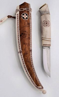 Saami knife by Veikko Hamara