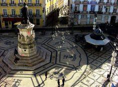 Largo Camoes, Lisbon, Lisboa - Portugal
