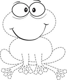 Drawings for kids, to have fun coloring experience. Frog Crafts, Flashcard, 4 Kids, Animals For Kids, Coloring Pages, Projects To Try, Kids Rugs, Patterns, Drawings