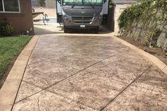 stamped concrete driveway - Google Search