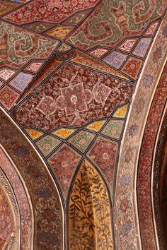 Wazir Khan Masjid, Lahore's old Walled City, Photographs by ||| Tammie