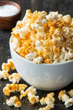 The best DIY Microwave Popcorn with a bonus Vegan Cheesy Popcorn recipe. It's butter-free, healthy, affordable, and OH so delicious!