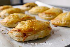 char siu sou - chinese bbq pork puff pastry