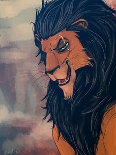 Scar - Lion King by Excel-K on DeviantArt Lion Wallpaper, Disney Phone Wallpaper, Cartoon Wallpaper Iphone, Scar Lion King, Lion King Fan Art, Lion King Kovu, Scar Rey Leon, Lion King Drawings, Lion King Pictures