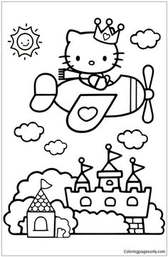 Hello Kitty Birthday Coloring Pages Awesome Bad Kitty Books Coloring Pages Hello Kitty Coloring Book Lego Movie Coloring Pages, Airplane Coloring Pages, Ninjago Coloring Pages, Birthday Coloring Pages, Valentine Coloring Pages, Cute Coloring Pages, Coloring Pages For Kids, Coloring Books, Hello Kitty Art