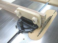A $100 Miter Gauge for $1 - by Bricofleur @ LumberJocks.com ~ woodworking community: