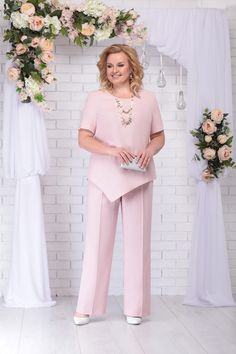 NINELE collection - buy in the online store at the best price - page 2 Piece Outfits, Mom Outfits, Dress Outfits, Fashion Dresses, Plus Size Lace Dress, Plus Size Dresses, Office Attire Women, Vintage Long Dress, Island Outfit