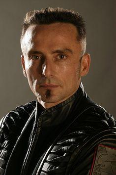"Farscape S1 David Franklin as ""Lt. Meeklo Braca"""
