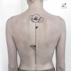 I also like this interaction of geometric and flower