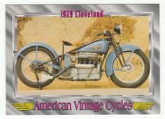 American Vintage Cycles Series I # 62 1929 Cleveland - Champ 1992