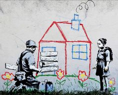 Playhouse, Offset Lithograph, BANKSY – Art Commerce