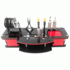 Awesome bench for people who build their own coils.