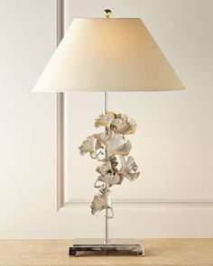 H7K3Q John-Richard Collection Gingko Leaves Buffet Lamp