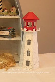 Templates for lighthouse and beach house paper cardboard crafts nova scotia lighthouse by cards and paper crafts at splitcoaststampers pronofoot35fo Choice Image
