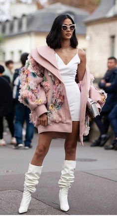 Part six: The best street style looks from Paris Fashion Week, Buro Buro Look Fashion, Paris Fashion, Runway Fashion, High Fashion, Autumn Fashion, Fashion Outfits, Womens Fashion, Fashion Design, Fashion Trends