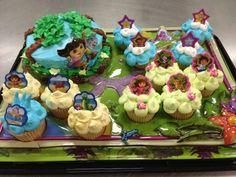 Dorra cake and cupcakes