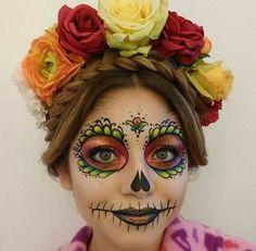 Costume Halloween, Halloween 2015, Holidays Halloween, Halloween Decorations, Halloween Party, Halloween Face Makeup, Halloween Ideas, Sugar Skull Makeup, Theatrical Makeup