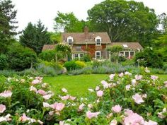 A Formal Cottage Garden with Gazebo