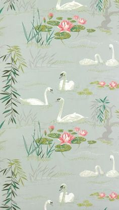 Swan Lake by Nina Campbell for Osborne & Little