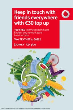New work from Jordon Cheung for Grey advertising London and Vodafone Ireland. Email Marketing, New Work, Web Design, Design Ideas, Texts, How To Apply, Ireland, Advertising