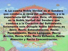 Las cuatro nobles verdades Budistas