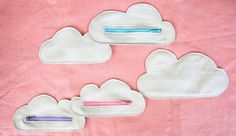 Cloud Pouches, maybe for jammies if you make them bigger?