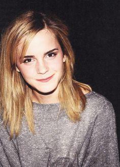 Emma Watson! I love that little smirk smile