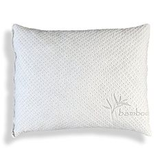 Shredded Memory Foam Pillow With Kool-Flow™ Micro-Vented Bamboo Cover - Made in the USA by Xtreme Comforts - Hypoallergenic and Dust Mite Resistant (Standard) Xtreme Comforts http://www.amazon.com/dp/B00V909F1K/ref=cm_sw_r_pi_dp_i5Wpwb0CZV3WZ