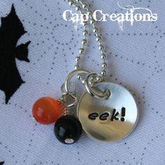 eek! (Halloween) Necklace