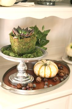 I've pretty much never found a cake stand from #Goodwill that I didn't like!  #thrift #decor #home
