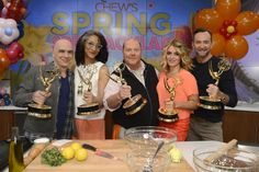 Thanks for the Daytime Emmy—and to my fabulous co-hosts for making work such fun!