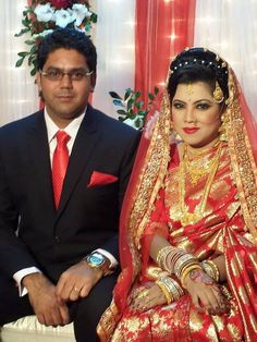 New couple from Dhaka, Bangladesh. Dec 2014