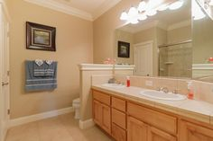 We love this large hall bath with built in linen closet! 1004 Montclair Dr, Redding Property Listing: MLS® #16-4469