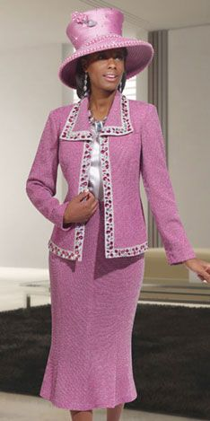 Vinci Spring And Summer Womens Church Knits 2014 Church Suits And Hats, Women Church Suits, Church Attire, Church Dresses, Church Outfits, Suits For Women, Clothes For Women, Church Hats, Beautiful Suit