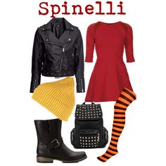 Spinelli- Recess by disneylindsay, via Polyvore
