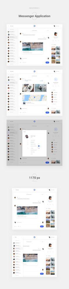 Messenger application