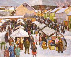 Lars Jorde, Lillehammer Market