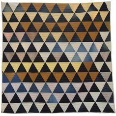 Pyramid Quilt by Folk Fibers
