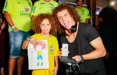 Sósias mirins da David Luiz e Thiago Silva