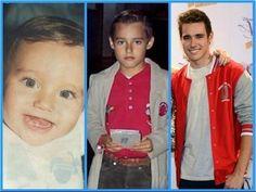 Jorge Blanco de pequeño hasta hoy en Violetta 2