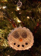 handmade ornament @BabyLuxDesign.com