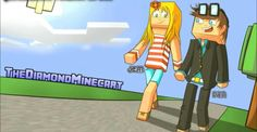 DanTDM and Jemma <3 such a cool drawing
