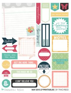 GossamerBlue.com MAY 2015 exclusive Gossamer Blue printable files (featured at scrapclubs.com)