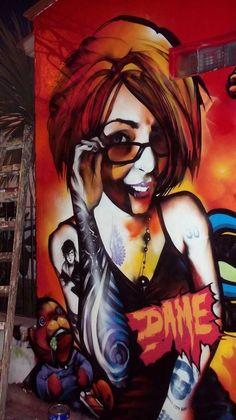 Comunicación a través de arte en las calles / DAME - Buenos Aires, Argentina / 2013